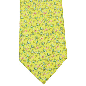 Vineyard Vines Shrimp Cocktail Neck Tie - Yellow