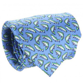 Vineyard Vines Trout Neck Tie - Blue