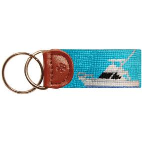 Smathers and Branson Sportfishing Boat Key Fob - Blue