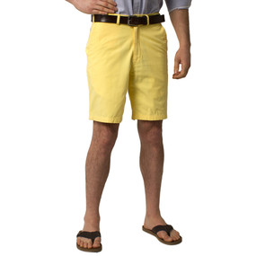 Castaway Clothing Solid Cisco Shorts - Yellow
