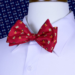 Bell of Rights Bow Tie - Red