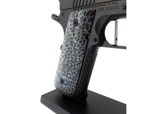Exotic Coral Grips 1911 Flat Bottom  Government/Commander