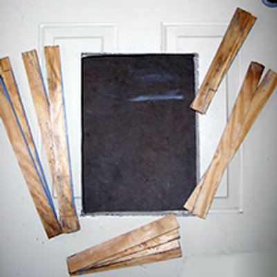 Steel Door Wood Trim Kit for Big Dog Door and Easy Big Dog Door