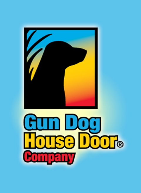 After Six Destroyed Vinyl Doors–Now Sold on the Heavy Duty Dog Door.