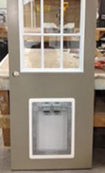 Small Dog PVC Door Trim Kit