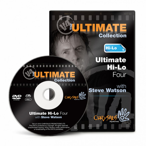 Ultimate Hi-Lo V4 DVD with Steve Watson