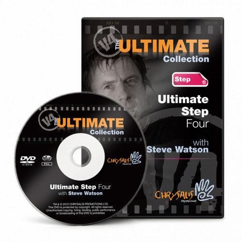 Ultimate Step V4 DVD with Steve Watson