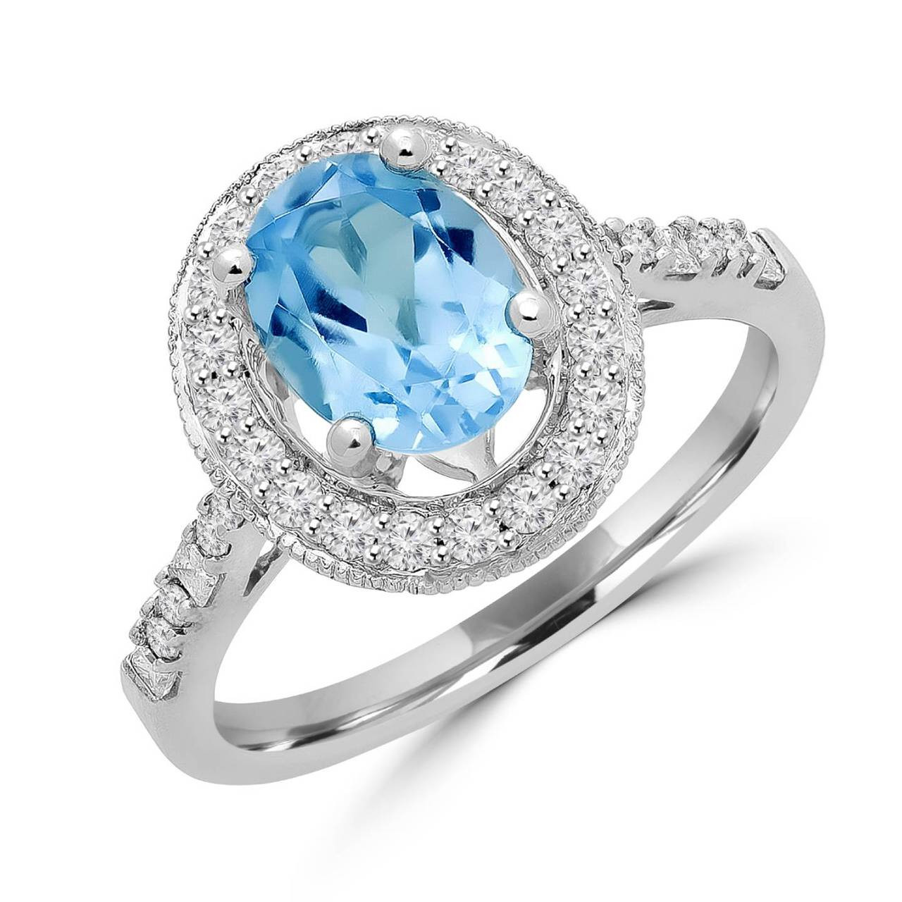 london white diamond ring gold products topaz rectangle halo doves blue