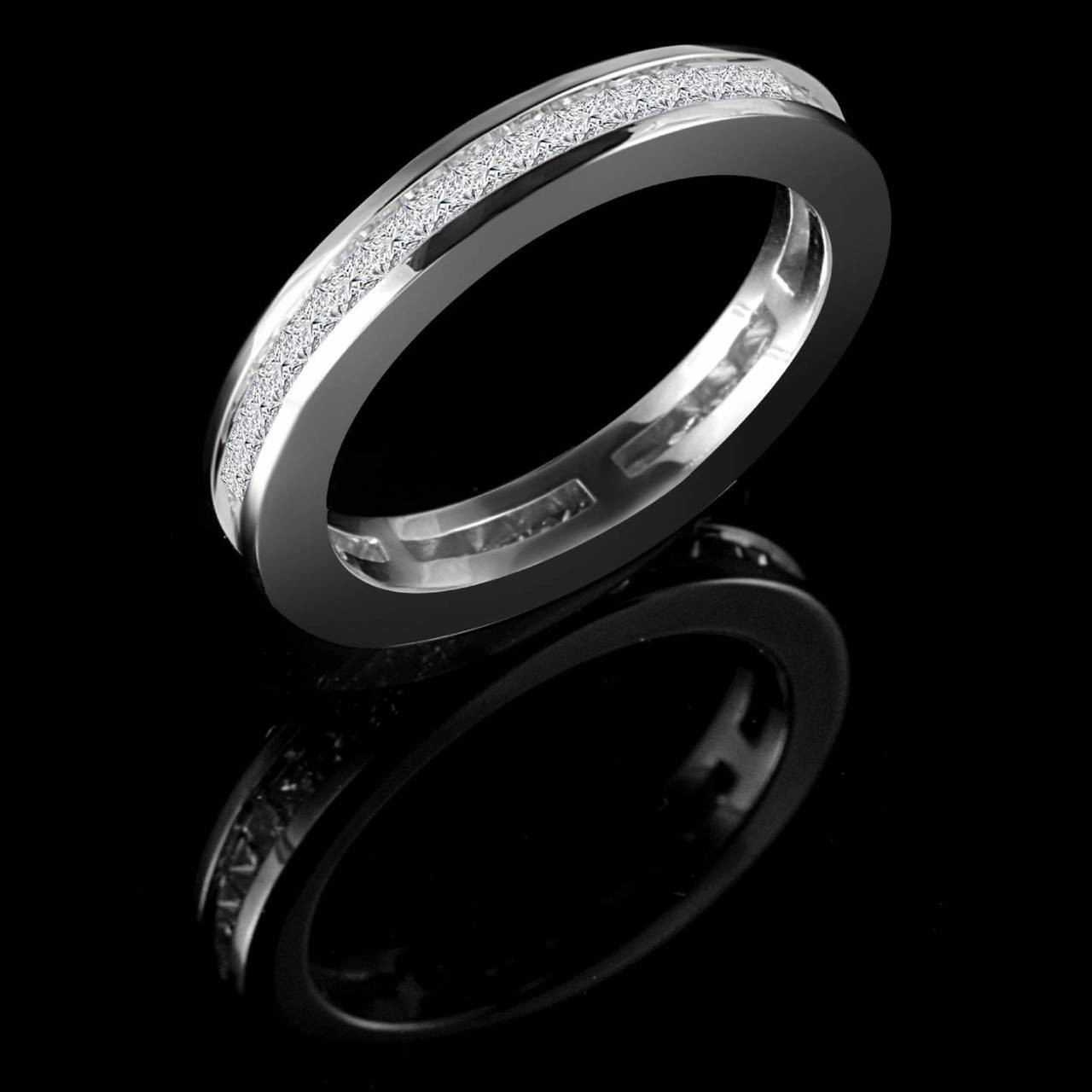 Full Bands: Full Eternity Wedding Band