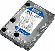 "500GB Western Digital Blue 3.5"" SATA Hard Drive (WD5000AAKS)"