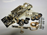 64 IMPALA GOLD PLATED CHASSIS & SHOWTIME PACKAGE ASST 1/24