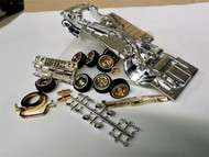 64 IMPALA CHROME PLATED CHASSIS & SHOWTIME PACKAGE ASST 1/24