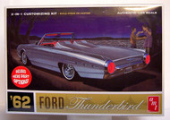 AMT 1962 FORD Thunderbird 2 N 1 Customizing  Model Kit  1/25 Scale
