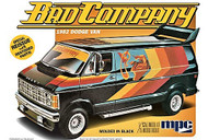 MPC 1/25 Scale BAD COMPANY 1982 Dodge Van