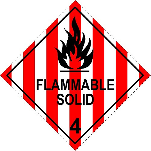 Flammable Solid 4 (Model No 4.1)