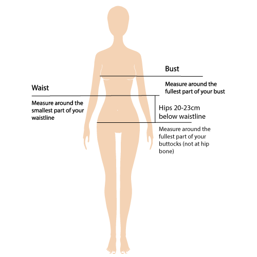 Size Guide Example Image