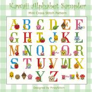 Kawaii Cute Alphabet Sampler