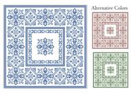 Geometric Flowers 2 Colors