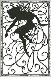 Fairy Silhouette Fantasy 001
