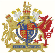 Coat of Arms Lion and Dragon