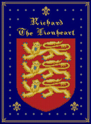Coat of Arms Richard the Lionheart