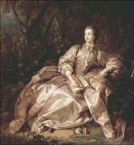 Madame Pompadour Sepia