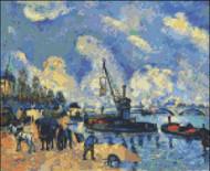 Seine at Bercy