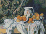 Still Life with Curtains