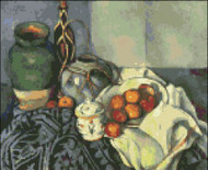 Still Life with Apples by Cezanne
