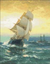 Brig Off Sandy Hook