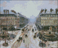Avenue de Opera Effect of Snow