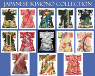 Japanese Kimono Cross Stitch Collection
