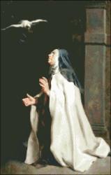 Teresa of Avila's Vision of a Dove