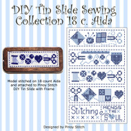 DIY Tin Slide Sewing Collection 18 c Aida