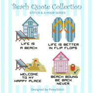 Beach Quotes Collection Stitch & Hoop