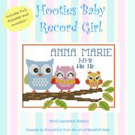 Hooties Baby Record Girl