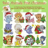 Baby Animals First Christmas