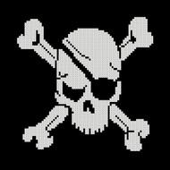 Pirate Symbol - Skull and Cross Bones