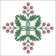Floral Ornamental #091 Cherry Beans
