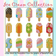 Ice Cream Colorful Collection