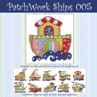 Patchwork Ships 005