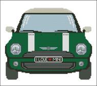 Mini Sports Car Green