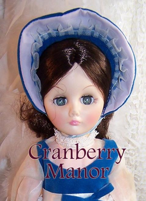 Effanbee Blue Victorian Lady Sleepy Eye Doll #1578 Toy with Original Tags & Box Vintage 1970s Designer Gift