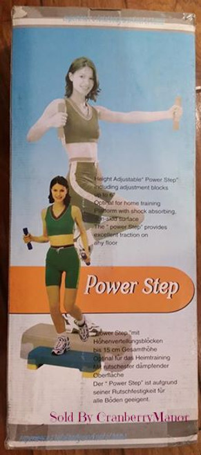 Power Step Height Adjustable Fitness System