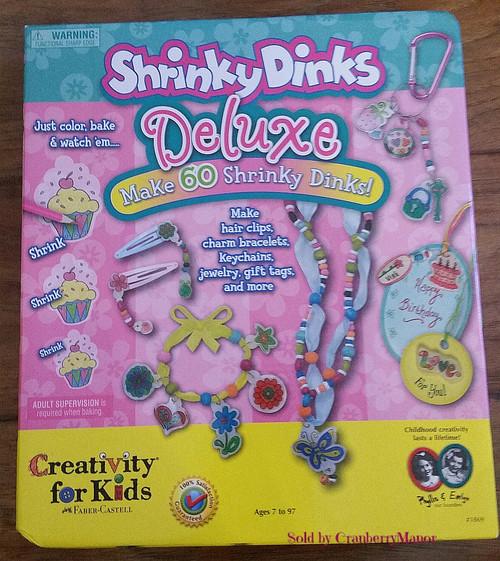 Shrinky Dinks Deluxe Kit by Creativity for Kids & Faber-Castell