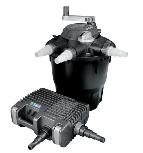 Hozelock bioforce filter kit 6000 pond filter aquaforce for Hozelock pond pumps and filters