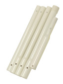P21X5PC / CFPOLE5PC 5 Piece Pole: 51.62 in. assembled - White