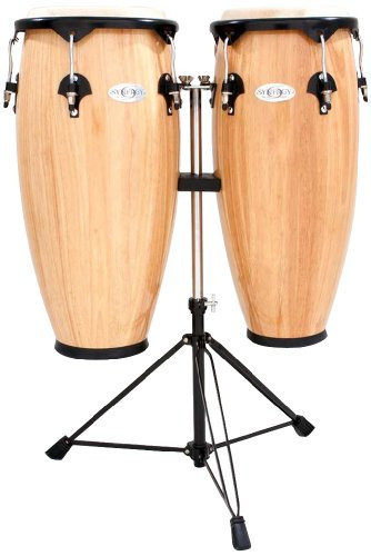 Toca a 2300N Synergy Series Conga Set with Stand - Natural