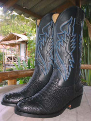 Crocodile Custom Cowboy Boots - Made to Your Measurements