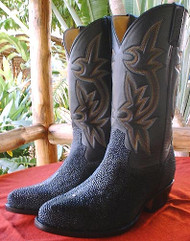STINGRAY Cowboy Boots-Six Rows of Stitching